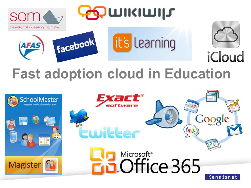 Fast adoption cloud in Education