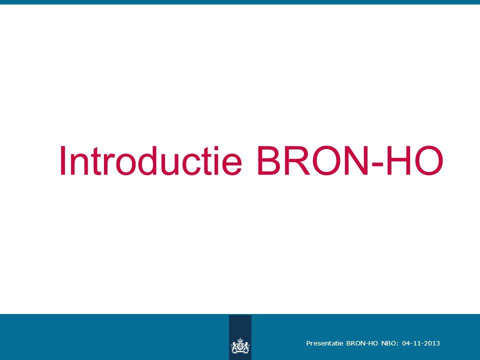 Introductie BRON-HO