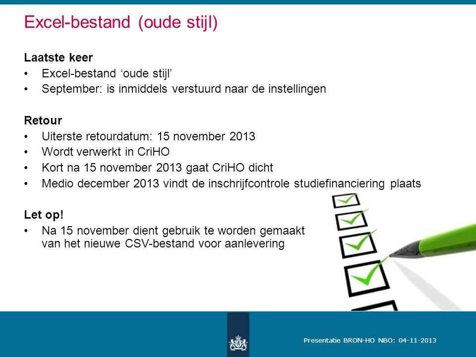 Excel-bestand (oude stijl)