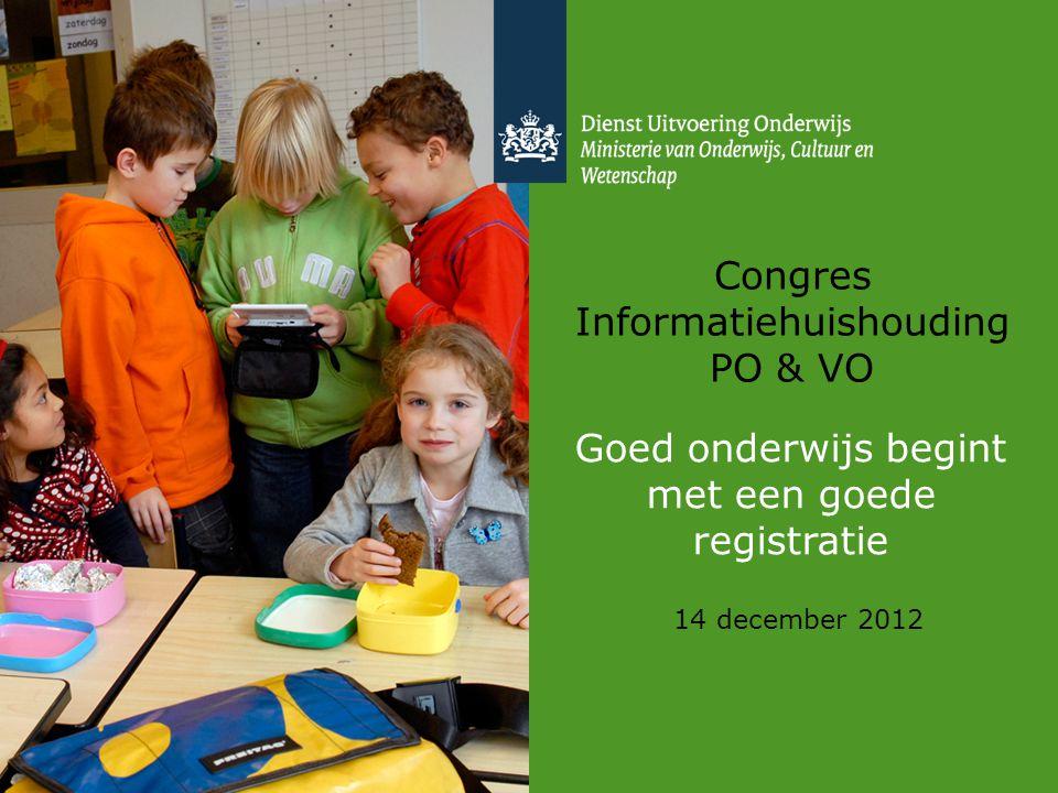 Congres Informatiehuishouding PO & VO