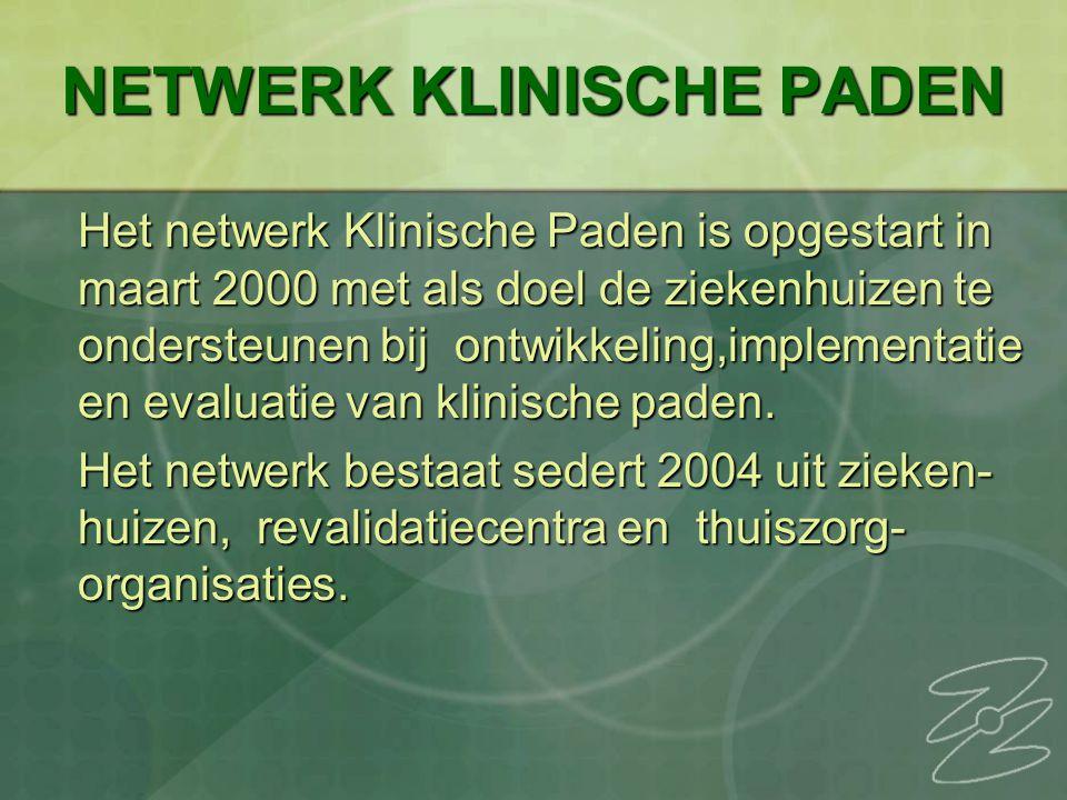 NETWERK KLINISCHE PADEN