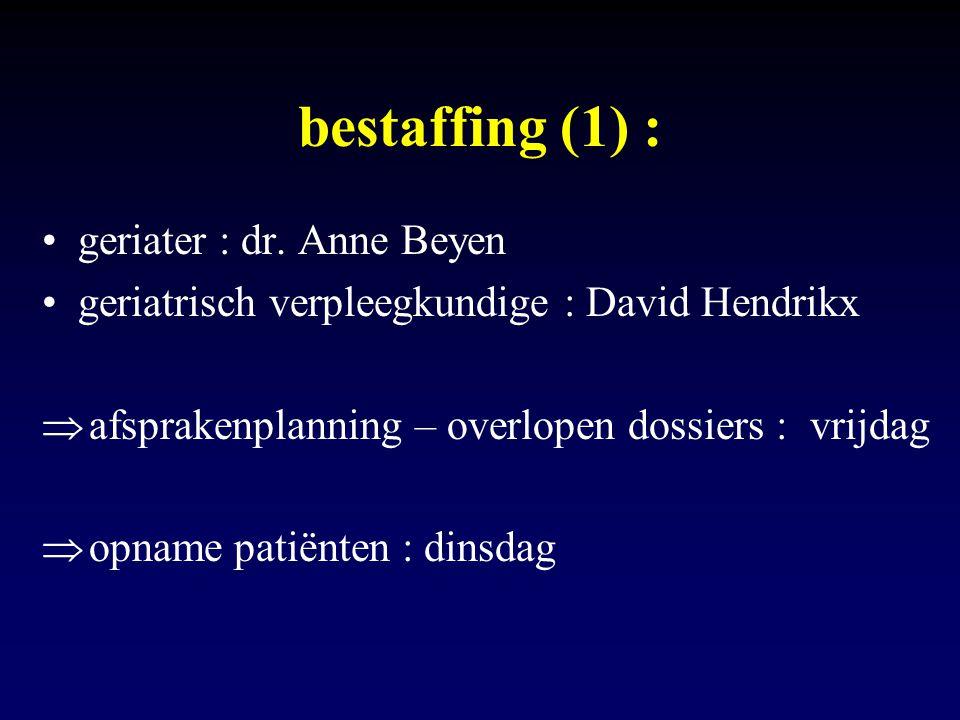 bestaffing (1) : geriater : dr. Anne Beyen
