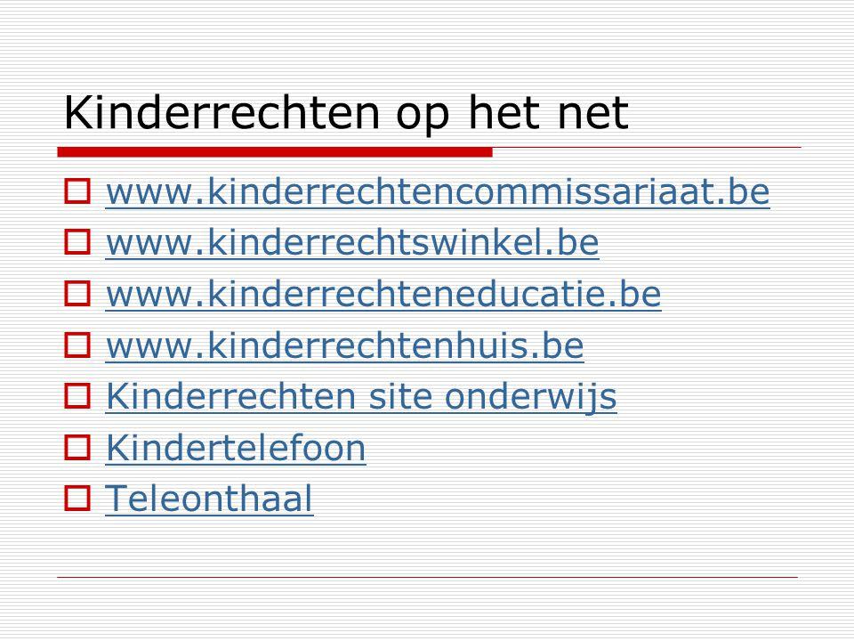 Kinderrechten op het net