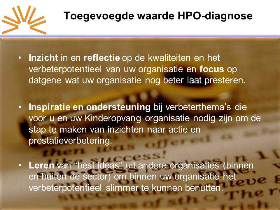 Toegevoegde waarde HPO-diagnose