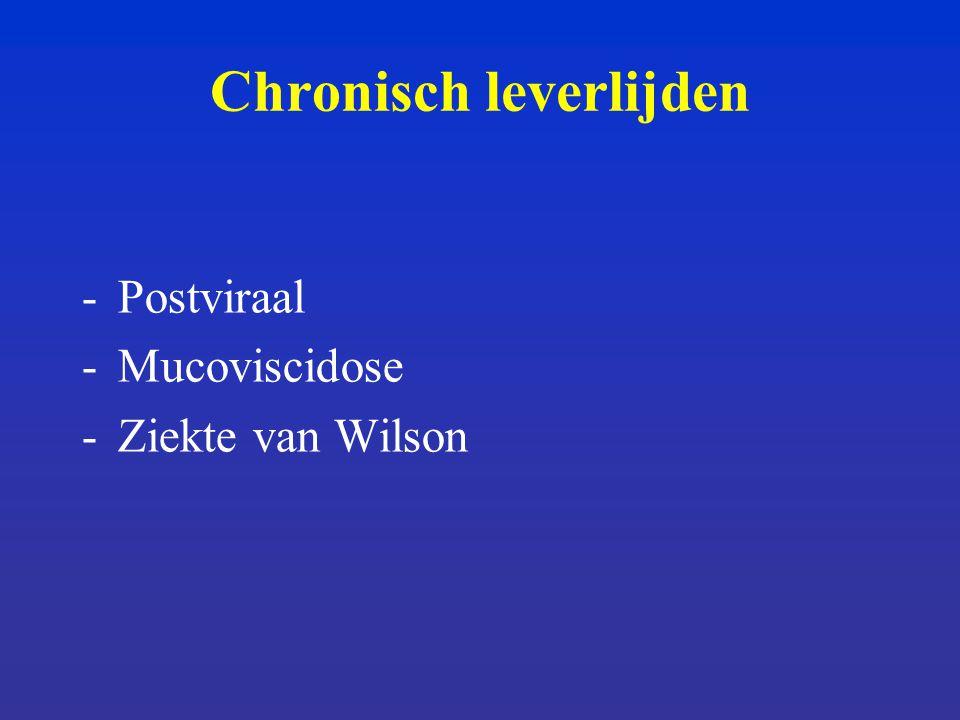 Chronisch leverlijden