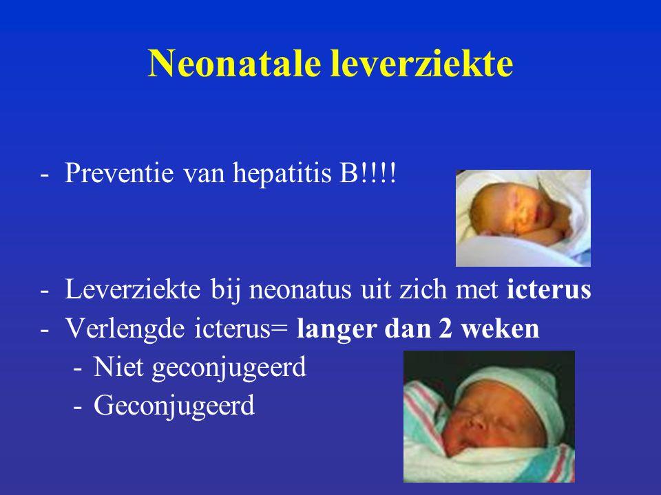 Neonatale leverziekte