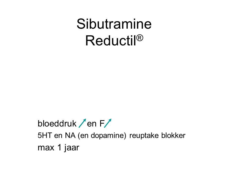 Sibutramine Reductil®
