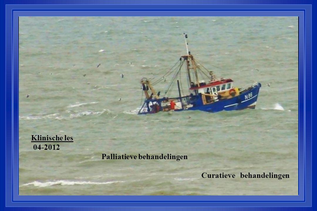 Klinische les 04-2012 Palliatieve behandelingen Curatieve behandelingen