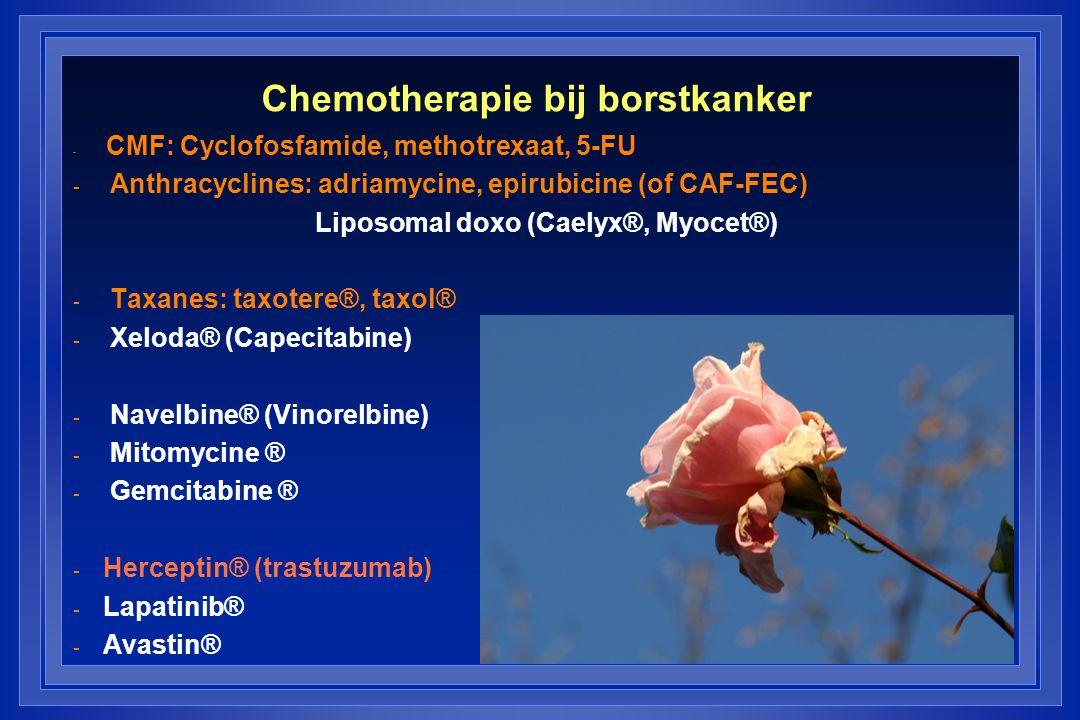 Chemotherapie bij borstkanker