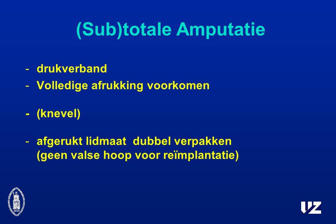 (Sub)totale Amputatie
