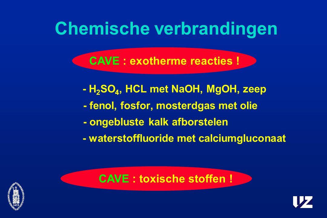 Chemische verbrandingen