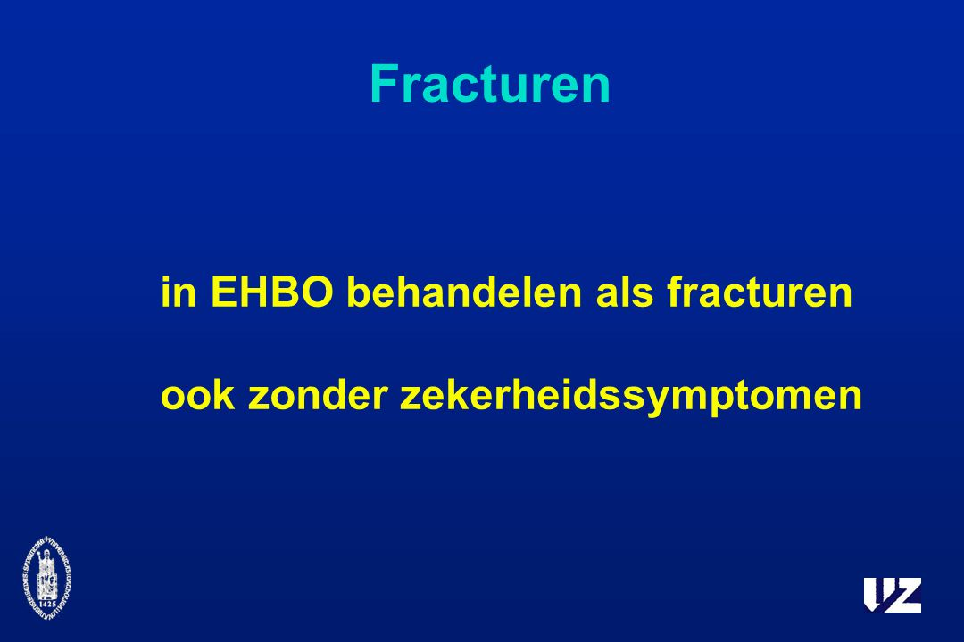 Fracturen in EHBO behandelen als fracturen
