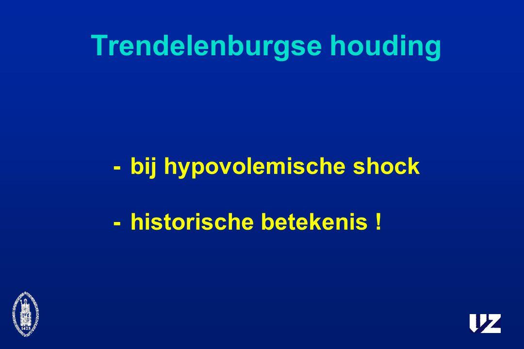 Trendelenburgse houding