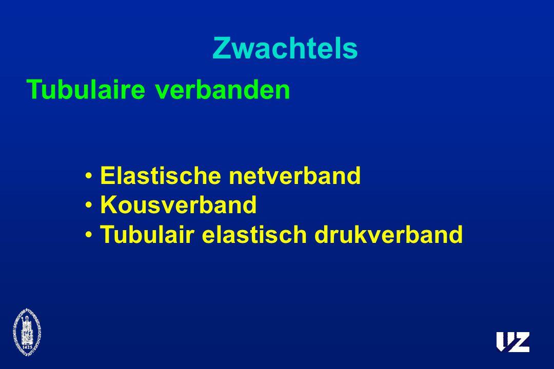 Zwachtels Tubulaire verbanden Elastische netverband Kousverband