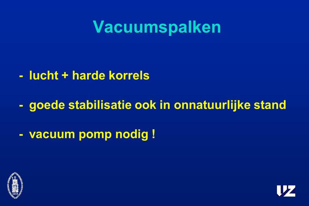 Vacuumspalken - lucht + harde korrels