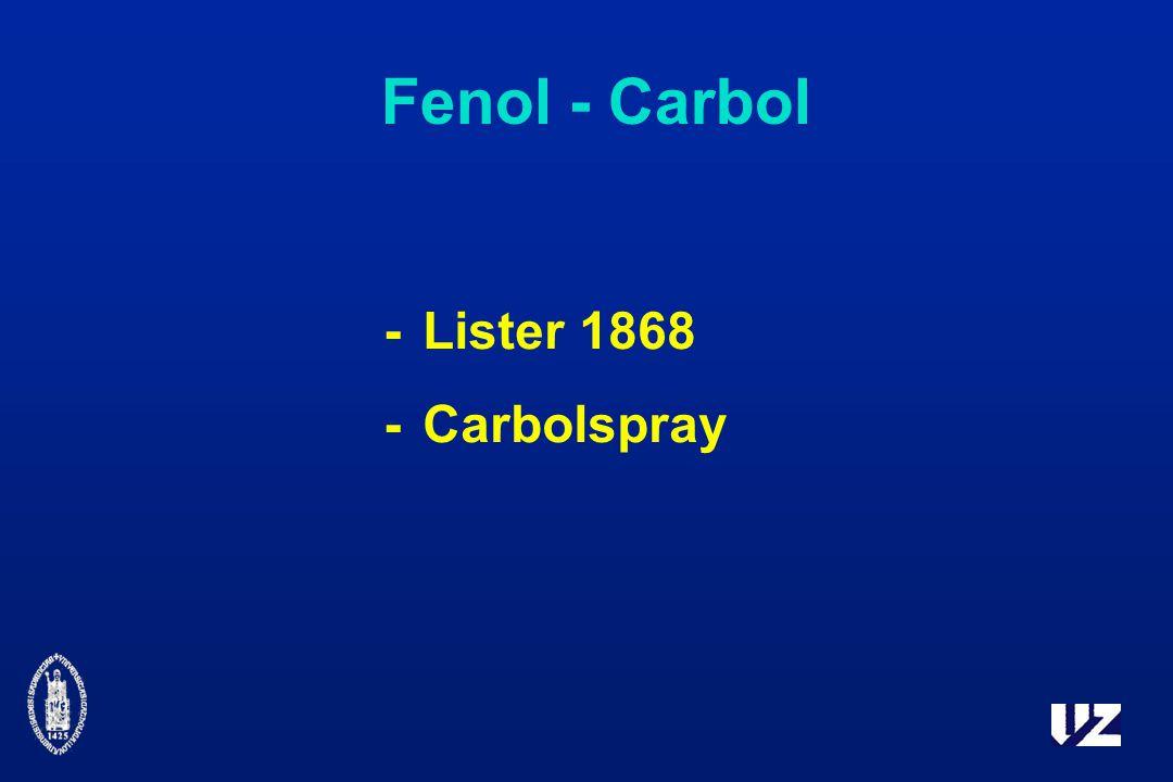 Fenol - Carbol - Lister 1868 - Carbolspray