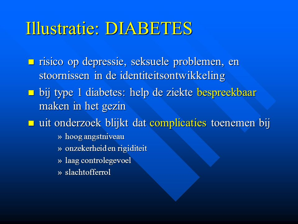 Illustratie: DIABETES