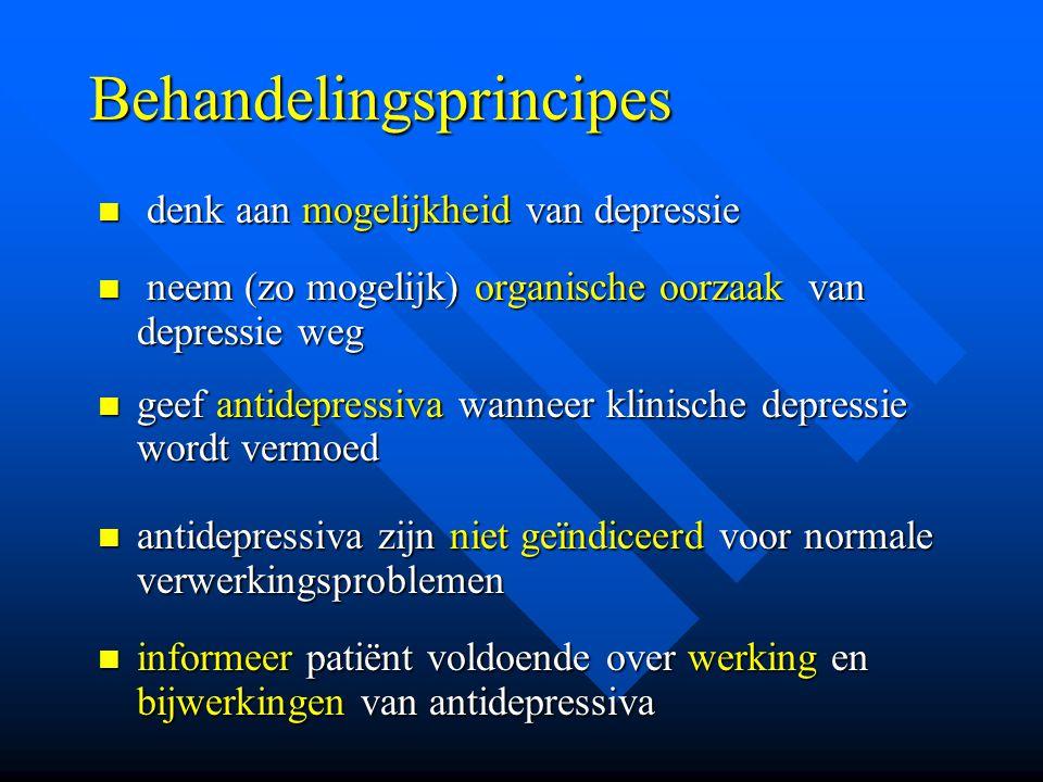 Behandelingsprincipes