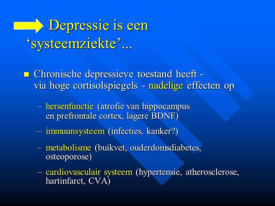 Depressie is een 'systeemziekte'...