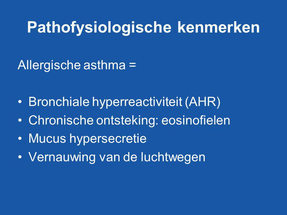Pathofysiologische kenmerken