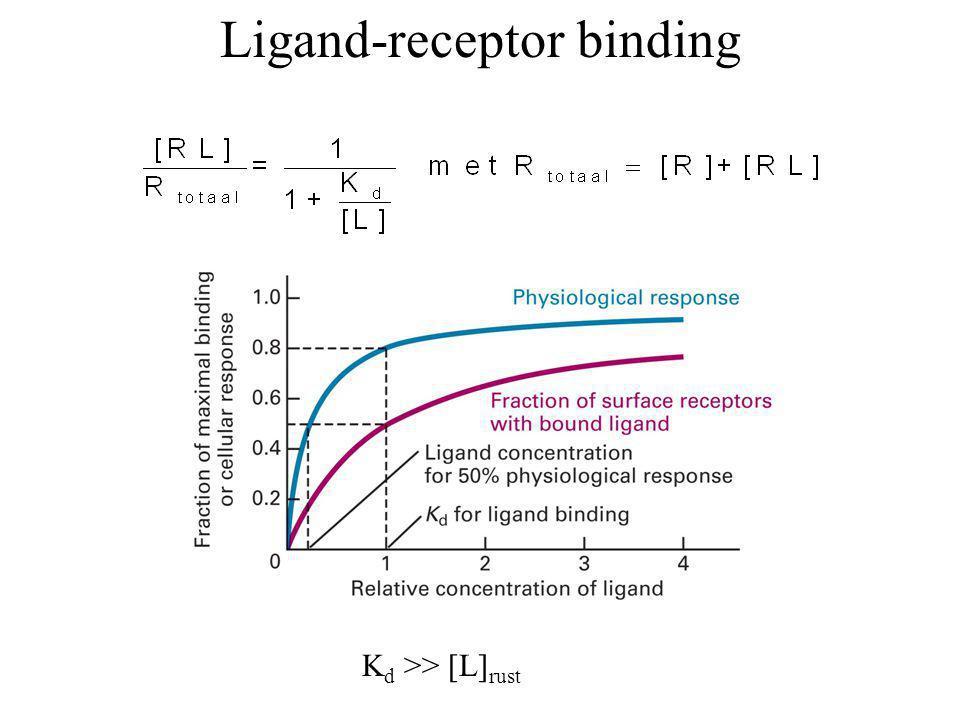 Ligand-receptor binding