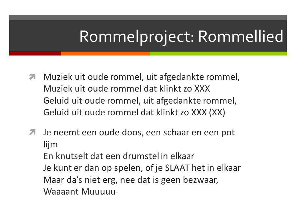 Rommelproject: Rommellied