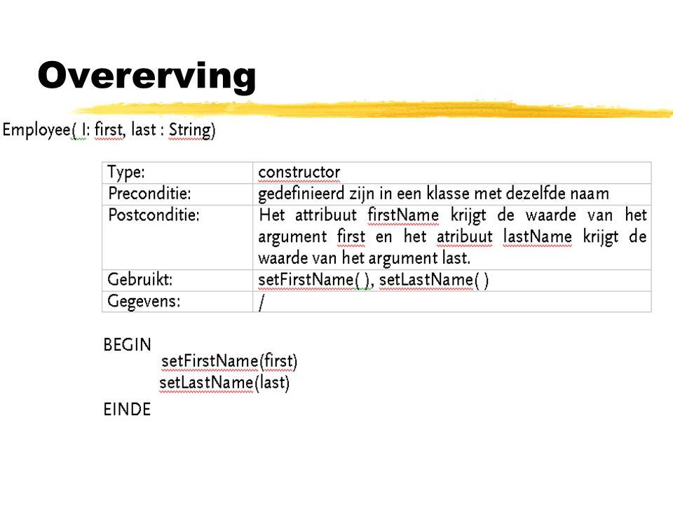 Overerving