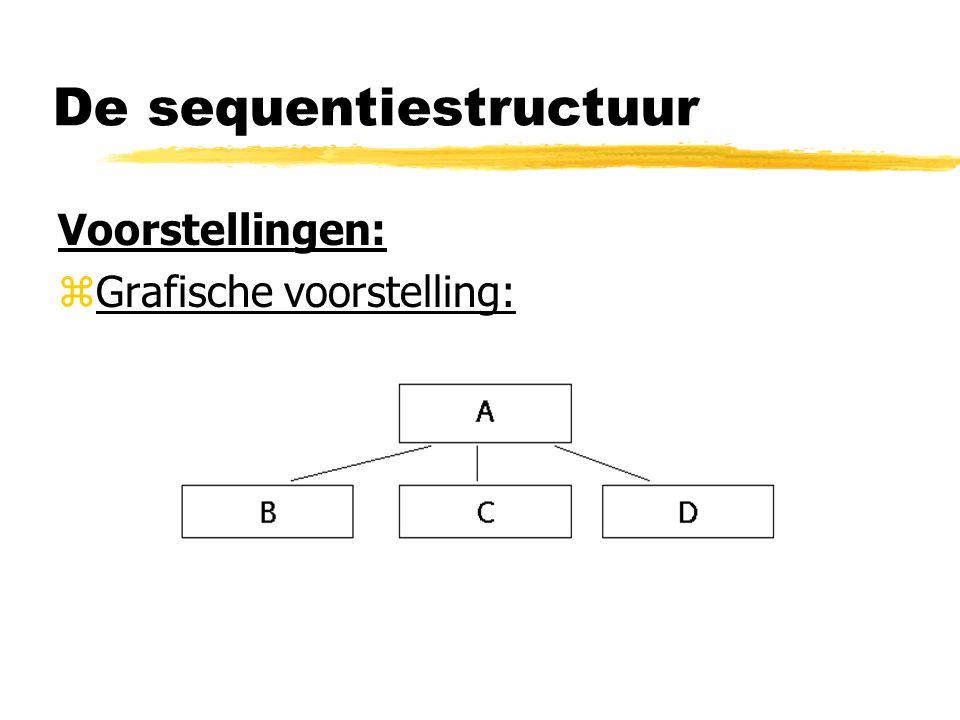 De sequentiestructuur