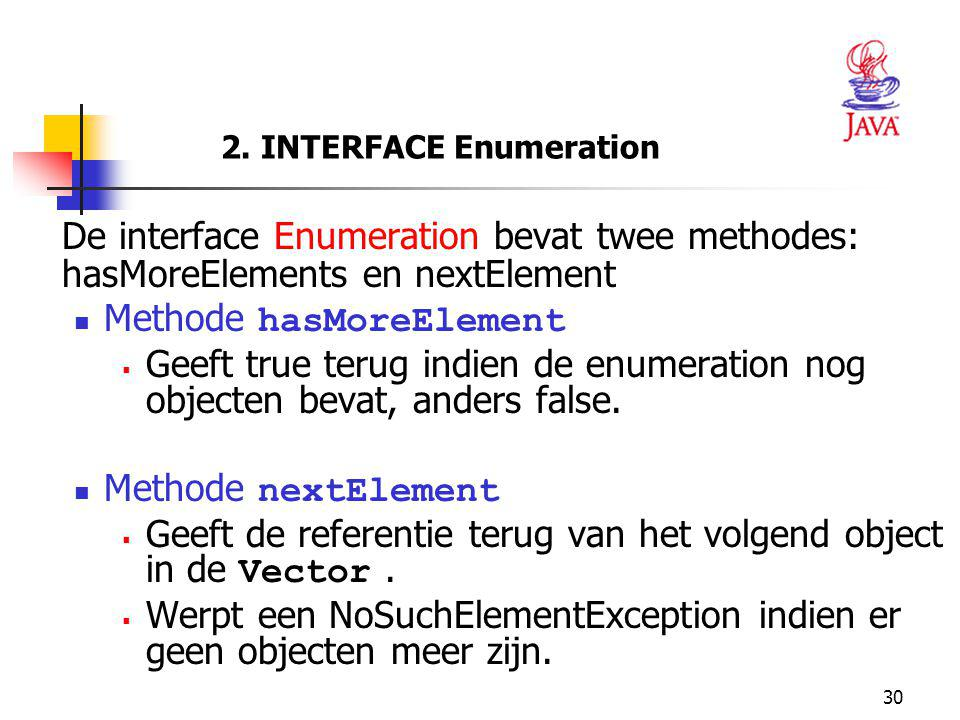 2. INTERFACE Enumeration