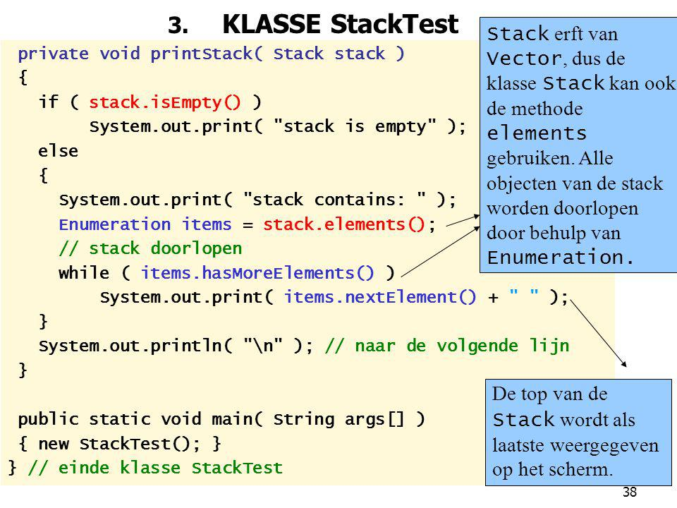 3. KLASSE StackTest