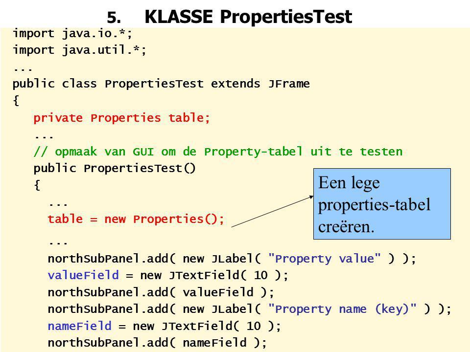 5. KLASSE PropertiesTest