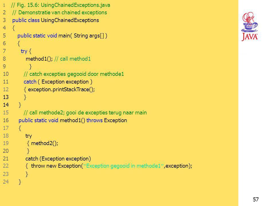 Method printStackTrace Throwable class