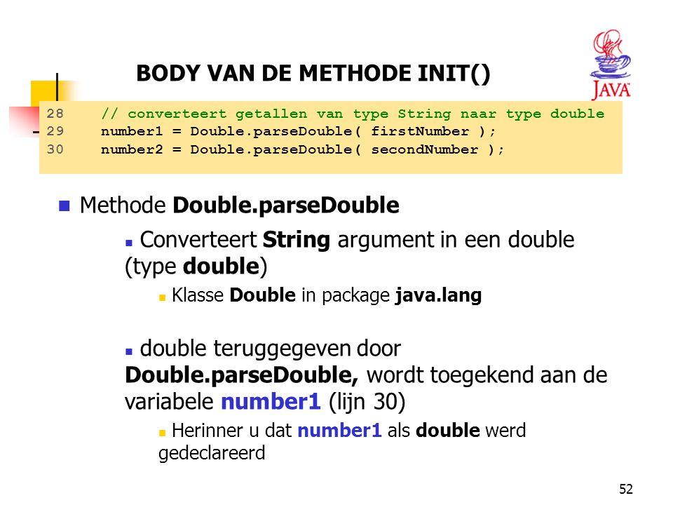 Methode Double.parseDouble