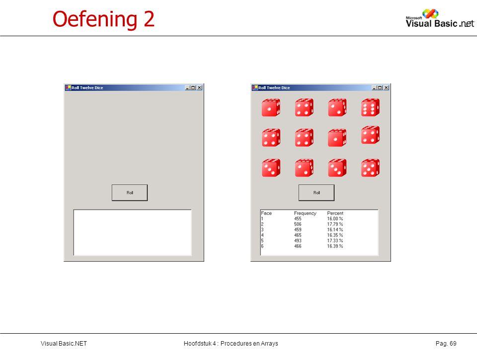 Oefening 2 Visual Basic.NET