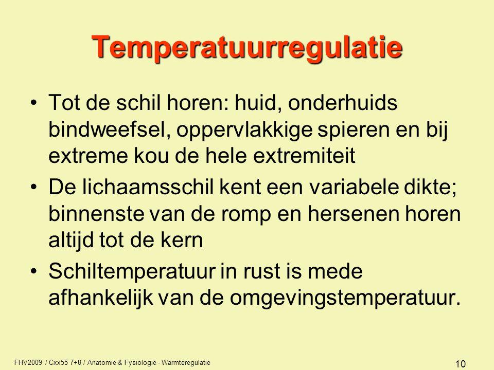 Temperatuurregulatie