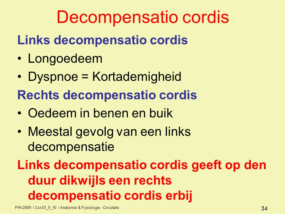 Decompensatio cordis Links decompensatio cordis Longoedeem