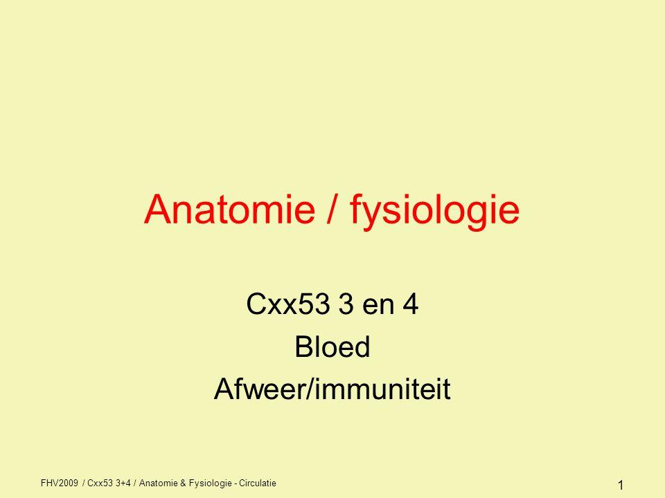 Cxx53 3 en 4 Bloed Afweer/immuniteit
