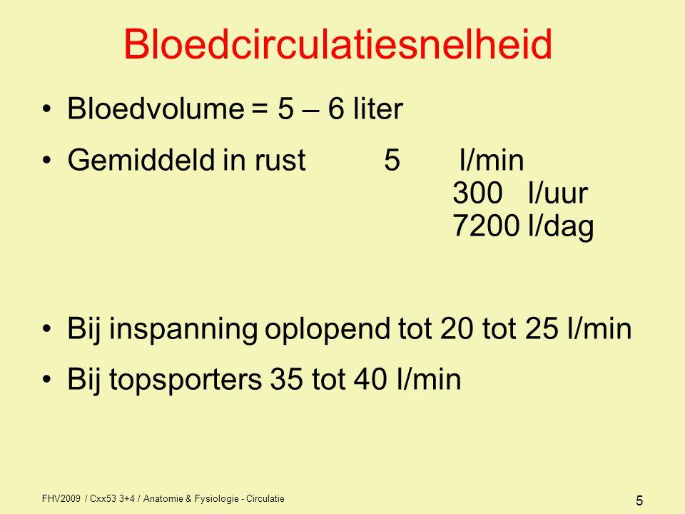 Bloedcirculatiesnelheid