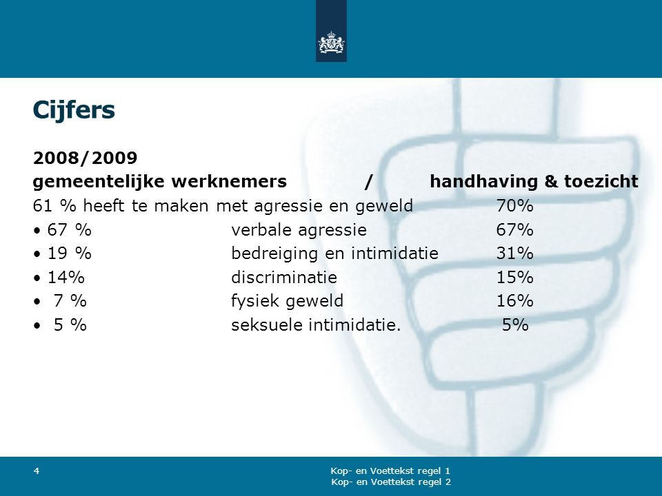 Cijfers 2008/2009 gemeentelijke werknemers / handhaving & toezicht