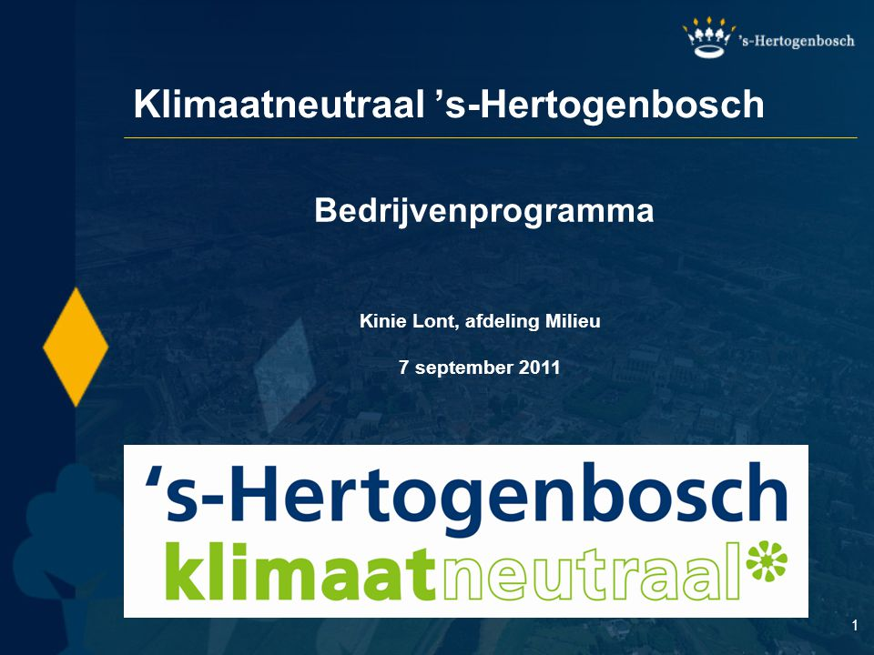 Klimaatneutraal 's-Hertogenbosch