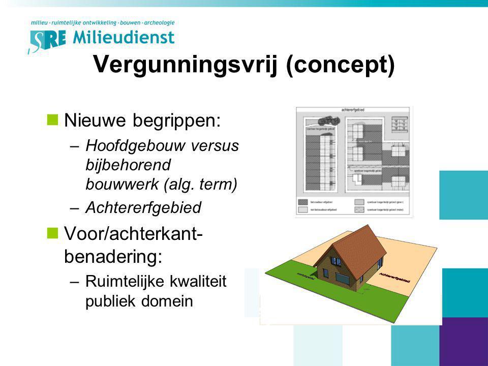Vergunningsvrij (concept)