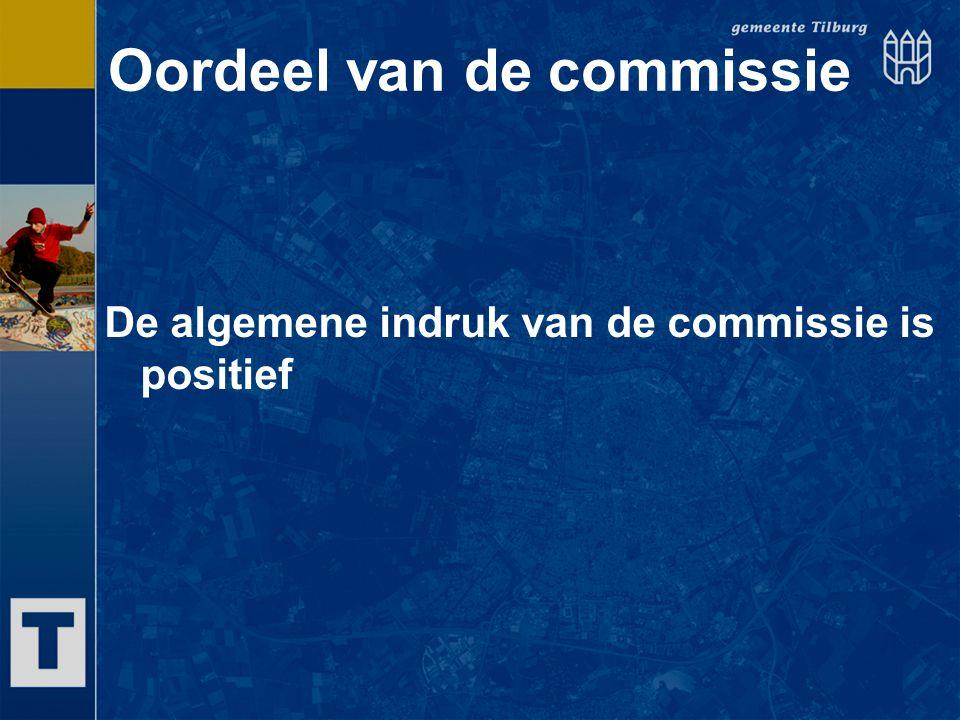 Oordeel van de commissie