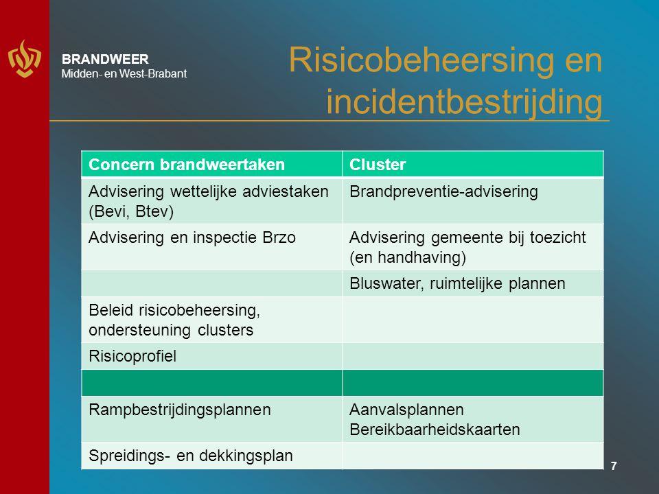 Risicobeheersing en incidentbestrijding