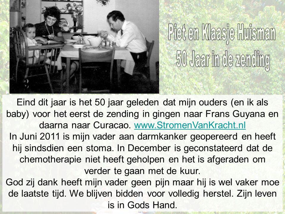 Piet en Klaasje Huisman