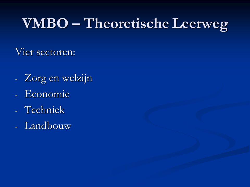 VMBO – Theoretische Leerweg