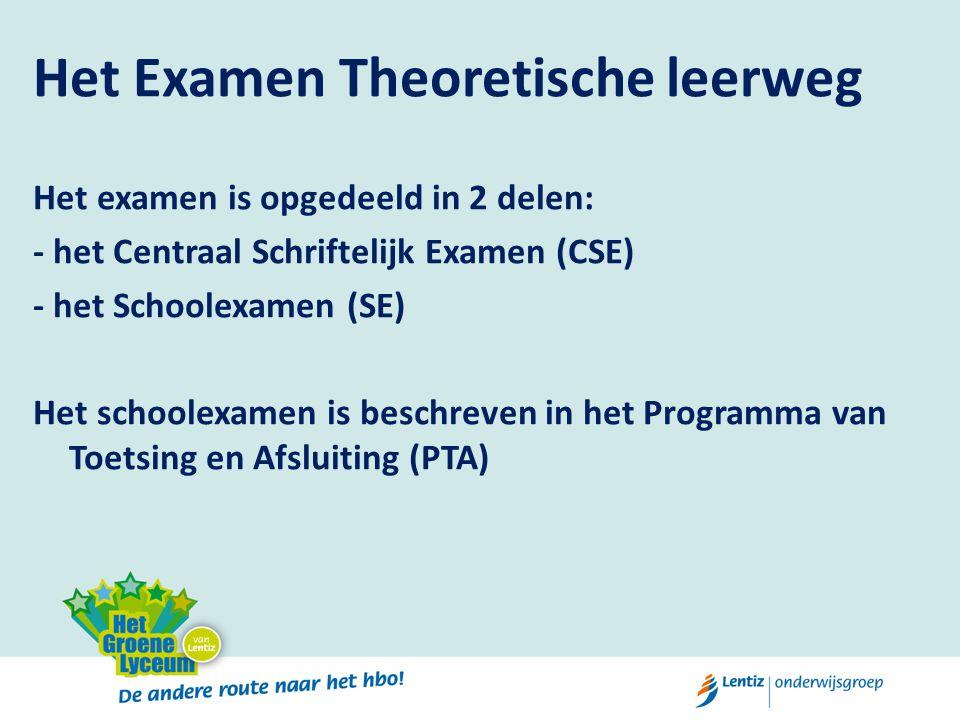 Het Examen Theoretische leerweg