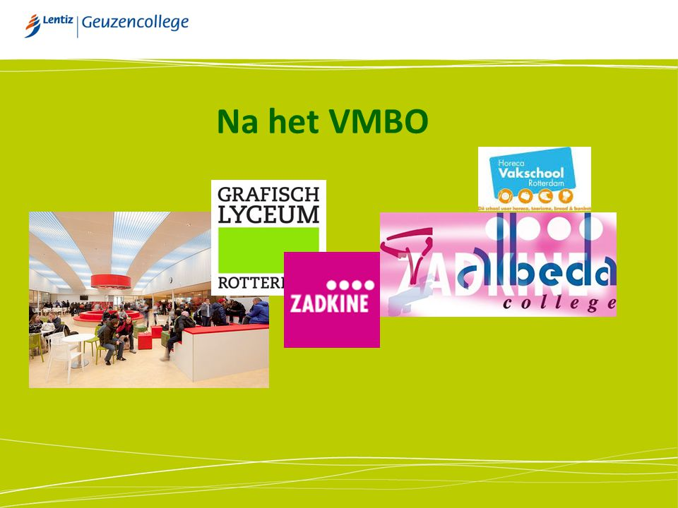 Na het VMBO