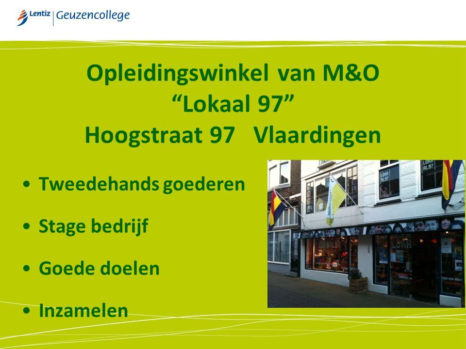 Opleidingswinkel van M&O Lokaal 97 Hoogstraat 97 Vlaardingen