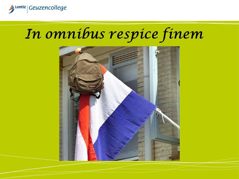In omnibus respice finem