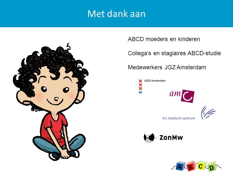 Met dank aan ABCD moeders en kinderen